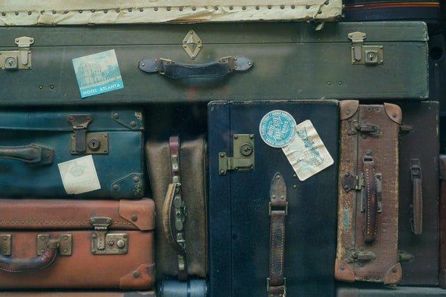 travel luggage people
