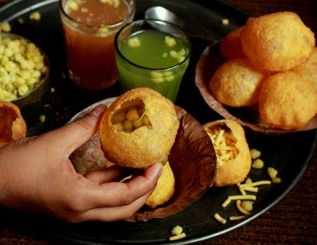 dish india histoire pani puri