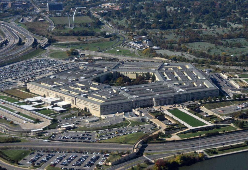 UFO pentagon america unidentified aerial object