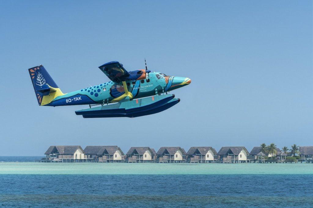 maldives tourism wiki seaplane
