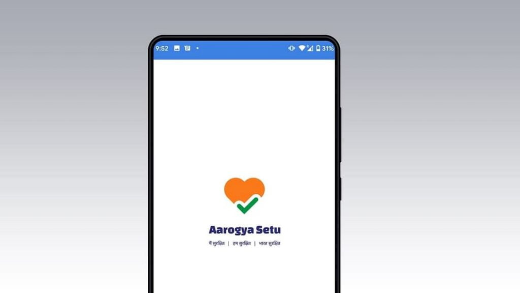 medical apps aarogya setu