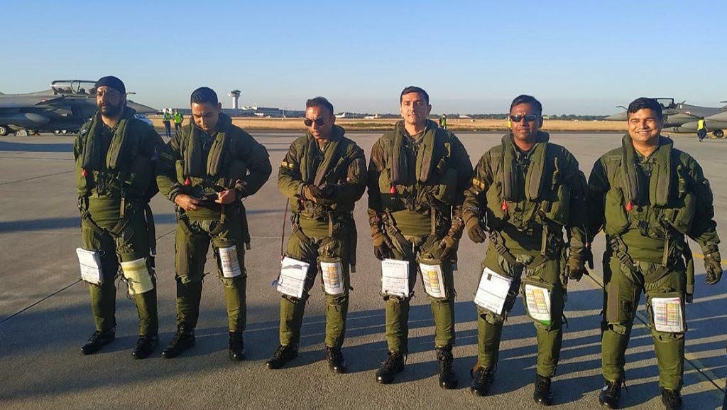 rafale fighter jets IAF