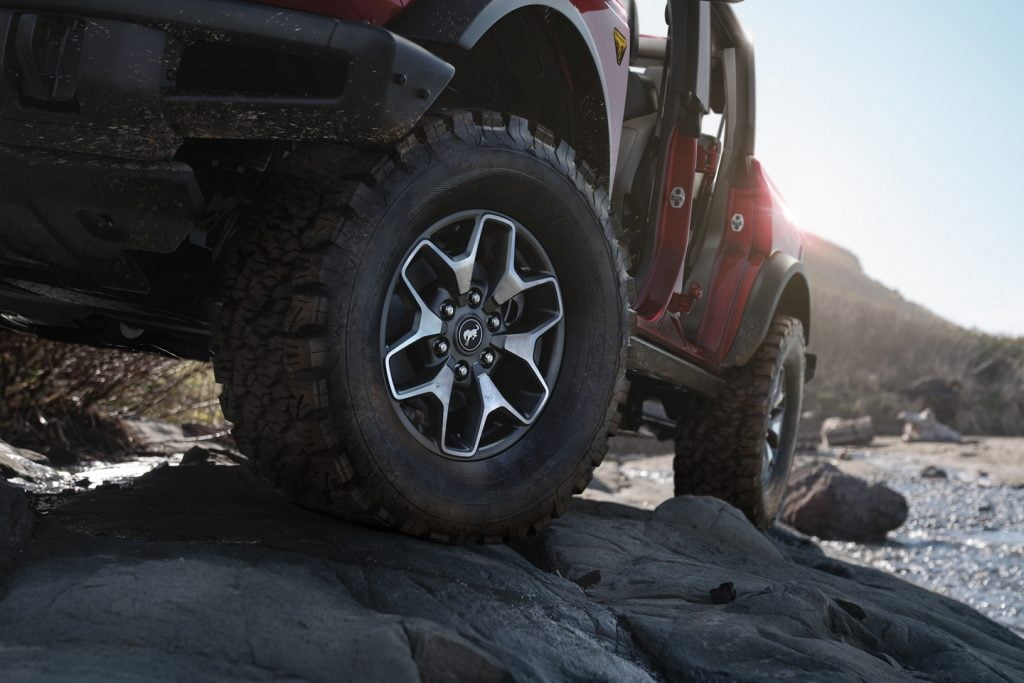 Ford Bronco sport offroad