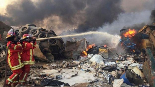 beirut explosion lebanon 2020