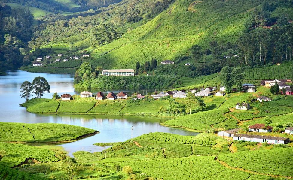 Kerala tourism india hotels munnar