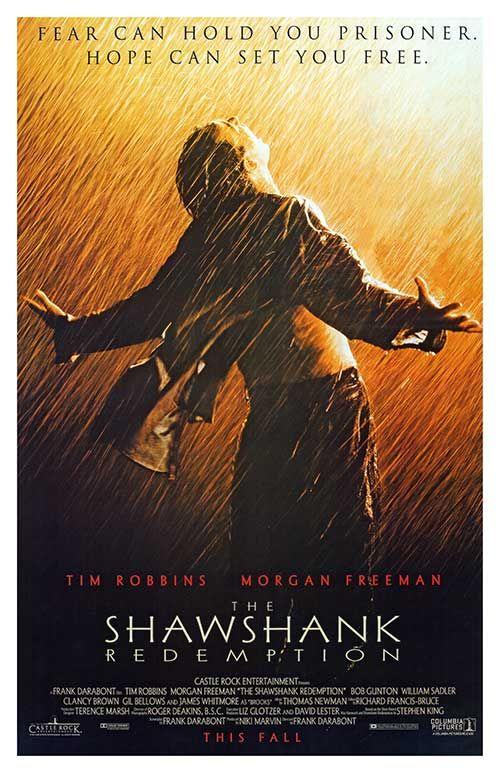 hollywood shawshank redempation
