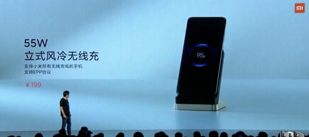 xiaomi 10th anniversary 55w wireless