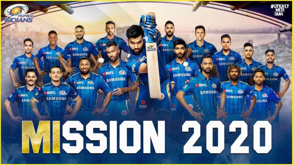 IPL Mumbai indians 2020 squad