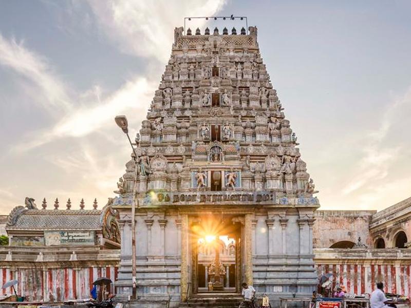 pondicherry tourism hotel Varadaraja Perumal Temple
