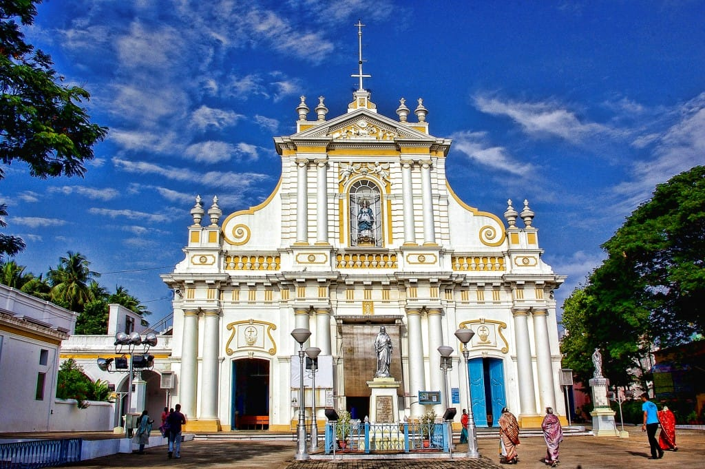 pondicherry tourism hotel Immaculate Conception Cathedral
