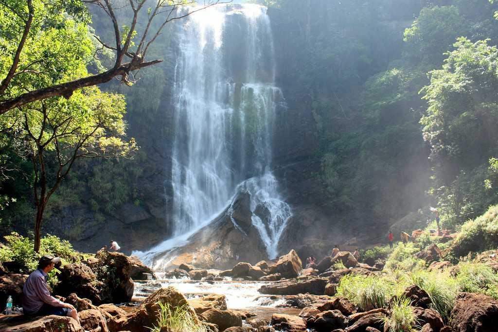 Chikmagalur tourism waterfalls trekking india Hebbe Falls
