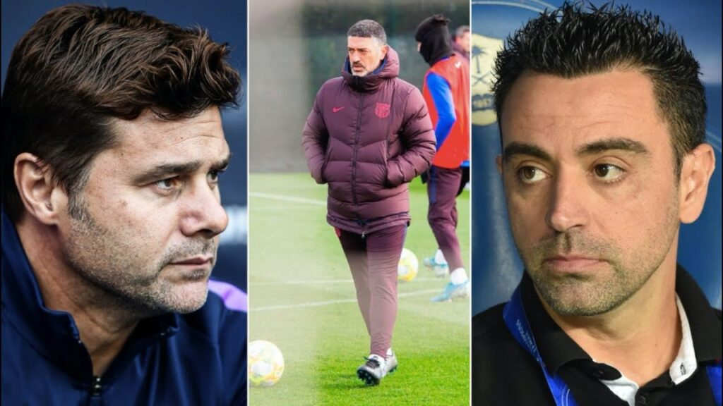 fc barcelona's new coach pochettino xavi