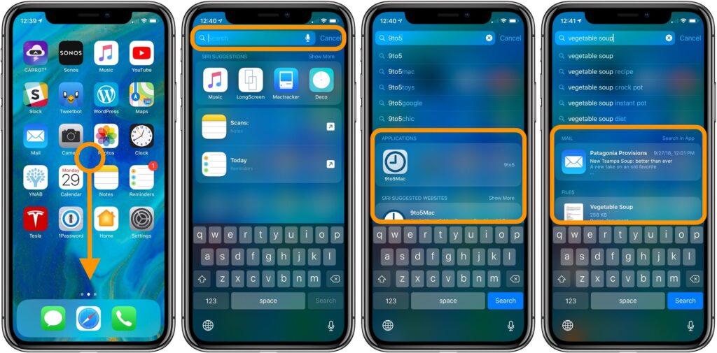 spotlight feature iphone apple
