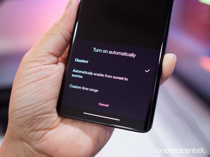 oxygenos 11 android 11 dark mode optimisation