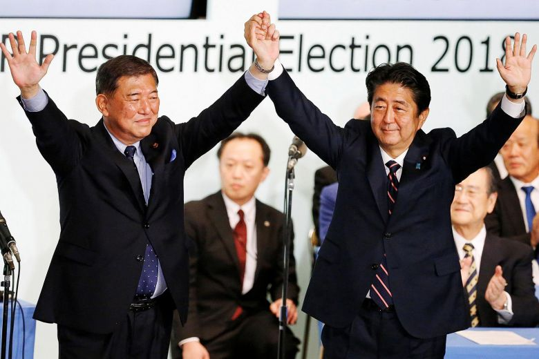 shinzo abe resign prime minister Japan
