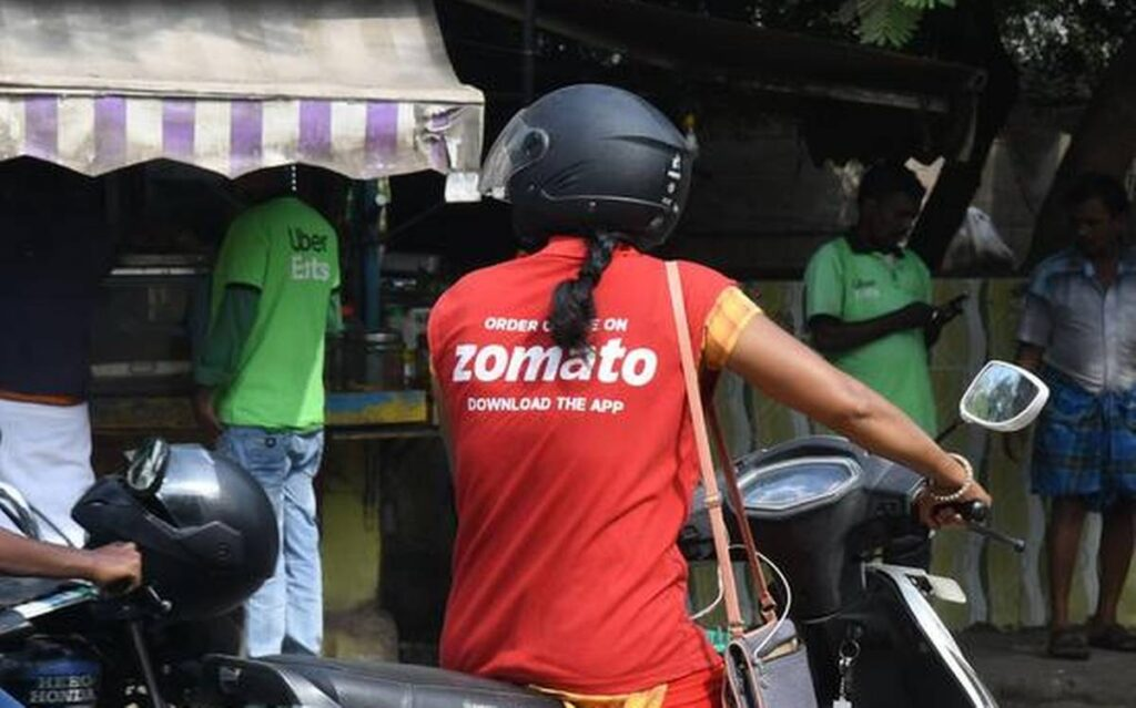 period leave zomato mensturation